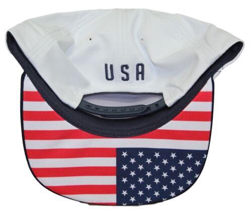 "Team USA World Cup Soccer Federation /""Jersey/"" Flat Bill Snap Back Hat"