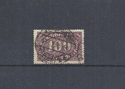 Gestempelt Ernst Deutsches Reich,1920 Michelnummer: 247 Pf Feld 24 O Fettiges Essen Zu Verdauen Michelwert € 40 Um Zu Helfen