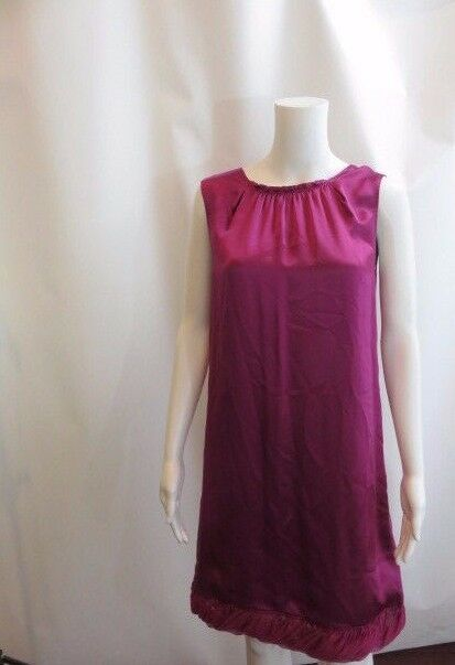 ELIE TAHARI Purple Sleeveless Sheath  Sorina  Style Silk Dress Size 6 NWT