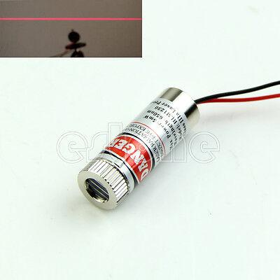 Red Line Laser Module 5mW 650nm Focus Adjustable Laser Head 5V Industrial Grade