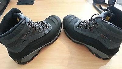 Stonekit Trivero Negro Gris Seguridad Trabajo Botas Zapatos Pies