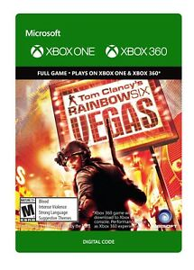 Details about Tom Clancy's Rainbow Six: Vegas Game Download DLC Xbox One or  Xbox 360 - No Disc