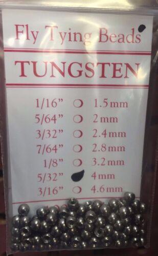 plomb couleur Tungstène Perles 100 ct couleur naturelle Tailles 1//16 à 5//32