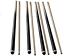 East Eagle 36 Inch//48 Inch//58 Inch Billiard House Cue Sticks 2-Piece Pool Cue