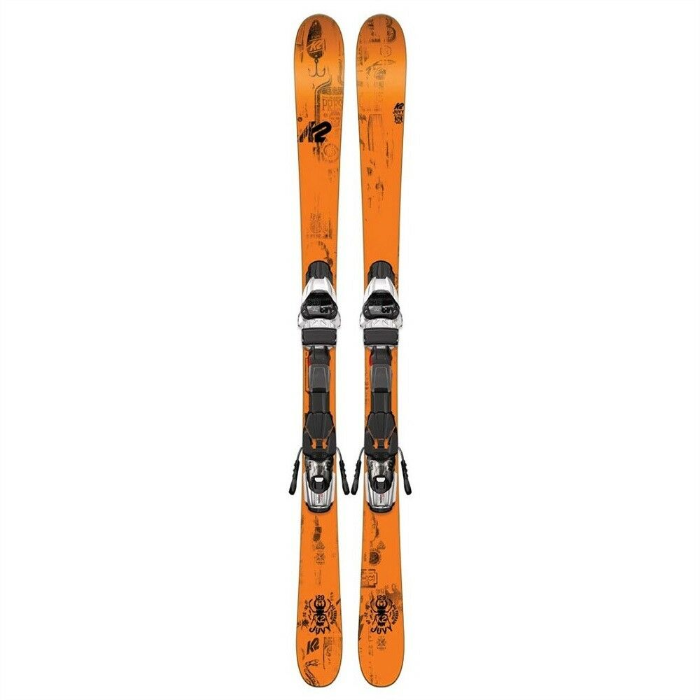 2017 K2 Juvy 119cm Junior Skis w  Fastrak2 7 Bindings