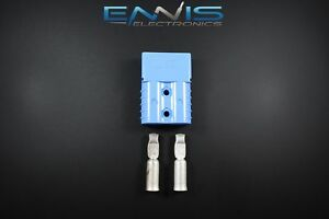 Install Bay SB120 Large Gauge Anderson Connectors 4 Gauge Blue Each