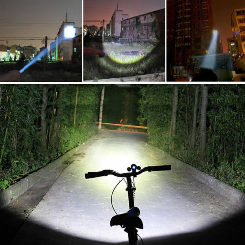 Bicycle Light 7 Watt 2000 Lumens Bright CREE Q5 LED Bike Front Torch Headlight