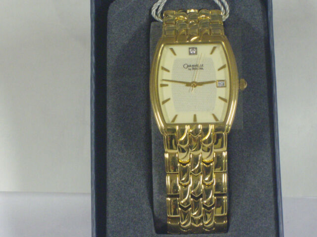 Bulova 44D11 Caravelle Diamond  Watch for Men