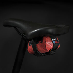 Barbieri Saddle Bag Red Road Bike Micro Seat