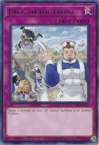 *** BACK TO THE FRONT *** RARE COTD-EN077 MINT//NM YUGIOH!