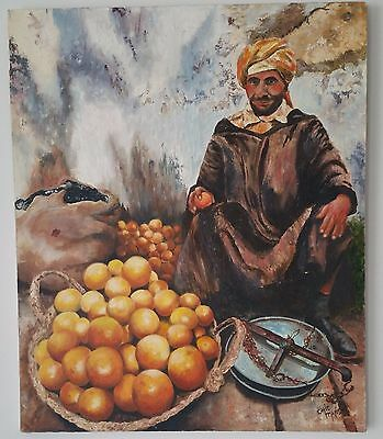 Realism Oil Painting on Canvas Signed by Chic Maris