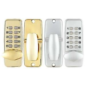 Mechanical Digital Door Lock Push Button Keypad Keyless Code Combination Lock With A Long Standing Reputation Door Hardware & Locks