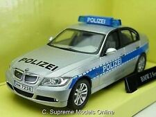 BMW 3 SERIES POLICE POLIZEI CAR 1/43 SCALE GREY INTEROR PACKAGED ISSUE K8967Q~#~