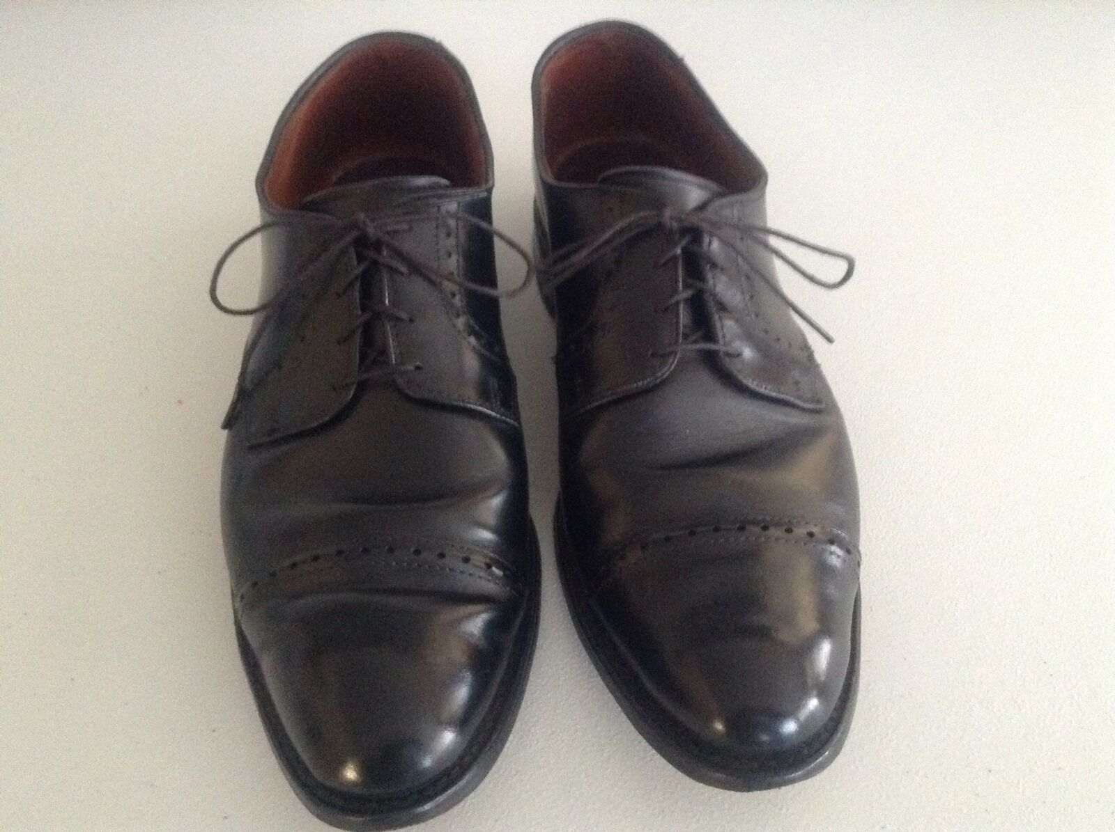 saldi Uomo Allen Edmonds Clifton nero Leather Cap Toe Toe Toe Dress Oxford Dress scarpe 11.5D  vendita con alto sconto