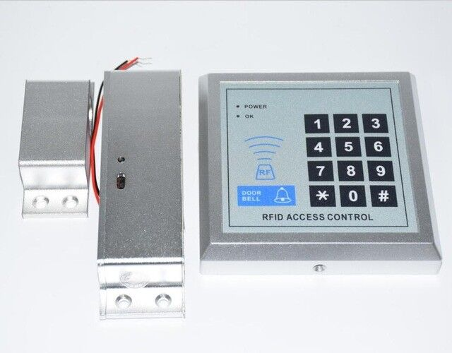 KTL607 Aluminum Fail Safe Door Gate Access Control Electric Magnetic RFID Keypad