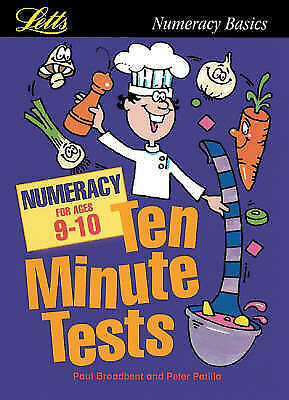 """""""VERY GOOD"""" KS2 Ten Minute Tests: Numeracy (ages 9-10): Age 9-10, Unknown, Book"""