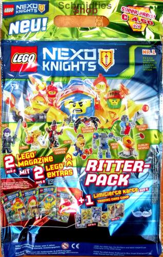 LEGO Nexo Knights Sonderausgabe Ritter Pack Nr.01//19 Spezial