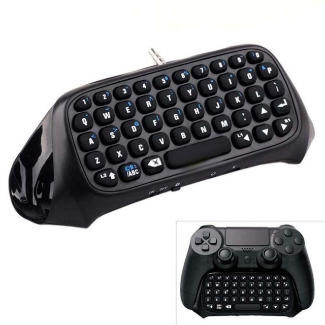 Mini Bluetooth Wireless Keyboard For Sony PS4 PlayStation-4 Accessory Control ❀