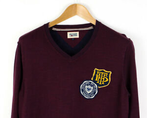 Tommy Hilfiger Hommes Pull Cardigan Taille L AFZ518