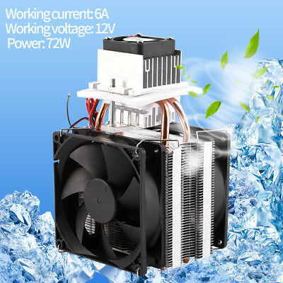 Termoelettrico Peltier Raffreddamento Semiconductor Air Cooling Cooler Fan Kit