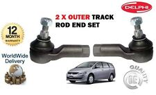 FOR MITSUBISHI GRANDIS 2.0DT DiD 2.4 + IMPORT 2003-  2x OUTER TRACK TIE ROD END