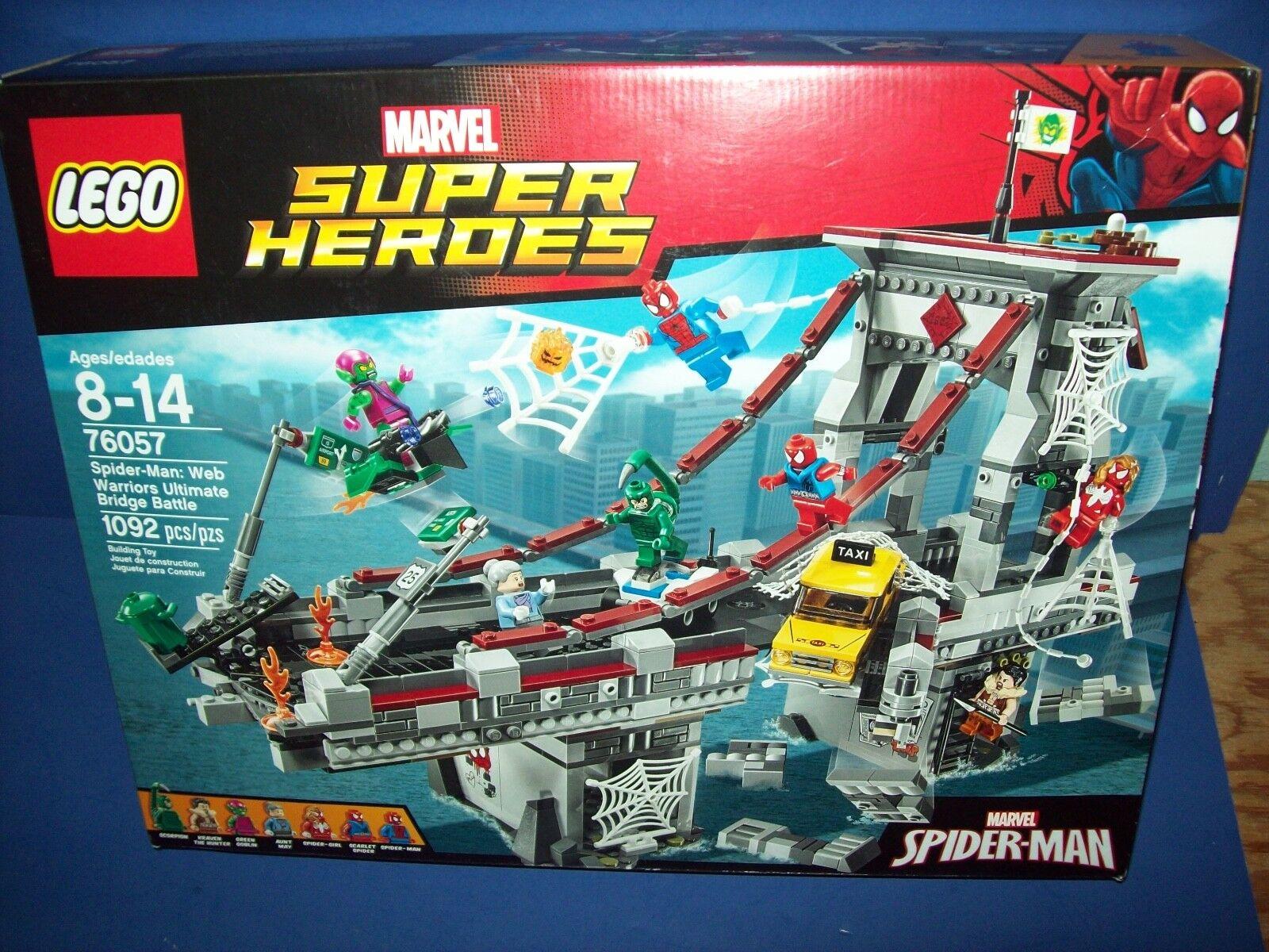 LEGO 76057 Marvel Super Heroes SPIDER-MAN WEB WARRIORS ULTIMATE BRIDGE BATTLE