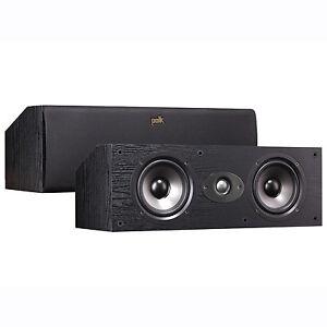 Blowout! Polk Audio Centre Channel Speaker - Black
