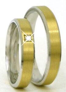 Ausgefallene Eheringe Trauringe 585 Er Gold Gelb Weissgold Mit