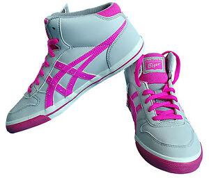 Details zu ASICS Onitsuka Tiger Damen Mädchen Knöchel Schuhe High Top Mid  Sneaker Gr. 38