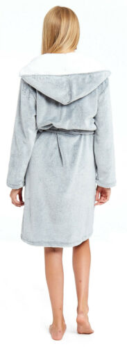 Carlin Robe de Chambre Garçon Fille Polaire à Capuche Lama Licorne Animal Neuf