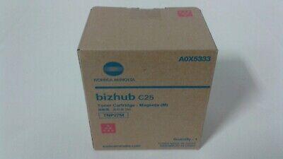 TNP27M A0X5333 Genuine Konica Minolta Bizhub C25 Magenta Toner