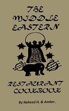 MIDDLE EASTERN restaurant COOKBOOK arabic recipes RARE*