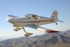 Plans For  Vans RV-6    52.5 in wing span   Scale  rc model airplane plans