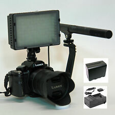 Pro VM SC-12L directional DSLR mic light F970 for Canon EOS 650D 600D 550D audio