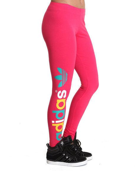 7d51ca80cf6d NW adidas Multicolor Trefoil Leggings Tight Yoga Running Pant Workout Women  Sz M for sale online