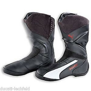 80ece8b92cd Ducati Puma Super Ride Boots Motorcycle Boots Boots Shoes Black NEW ...