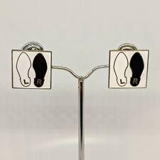 dance diagram andy warhol vintage andy warhol  mickey black  earrings new ebay  vintage andy warhol  mickey black