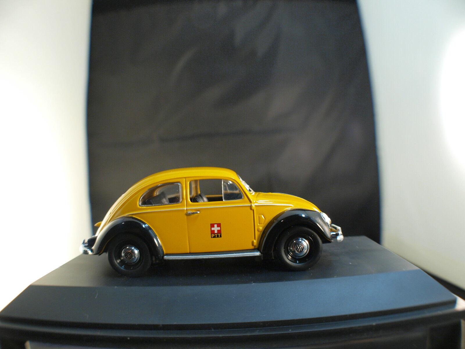 Schuco Volkswagen Kaefer Ptt Svizero Nuovo Scatola 1  43 MIB