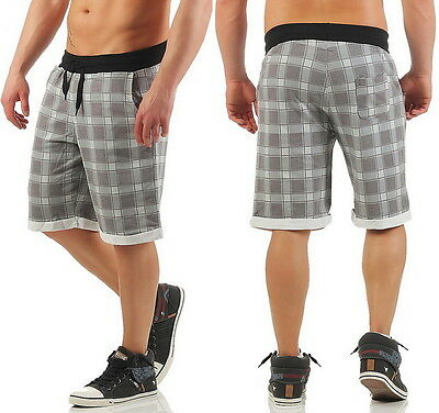Carisma Short Sweat Bermuda Karo Style kurze Hose Capri Beach Jogger S M L XL