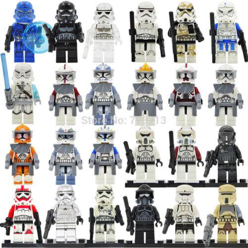 Star Wars The Force Awakens Clone Storm trooper Pilot Building Blocks Commander