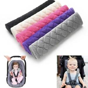 2pc-Car-Seat-Strap-Cover-Soft-Seat-Stroller-Belt-Cushion-Baby-Shoulder-Protector