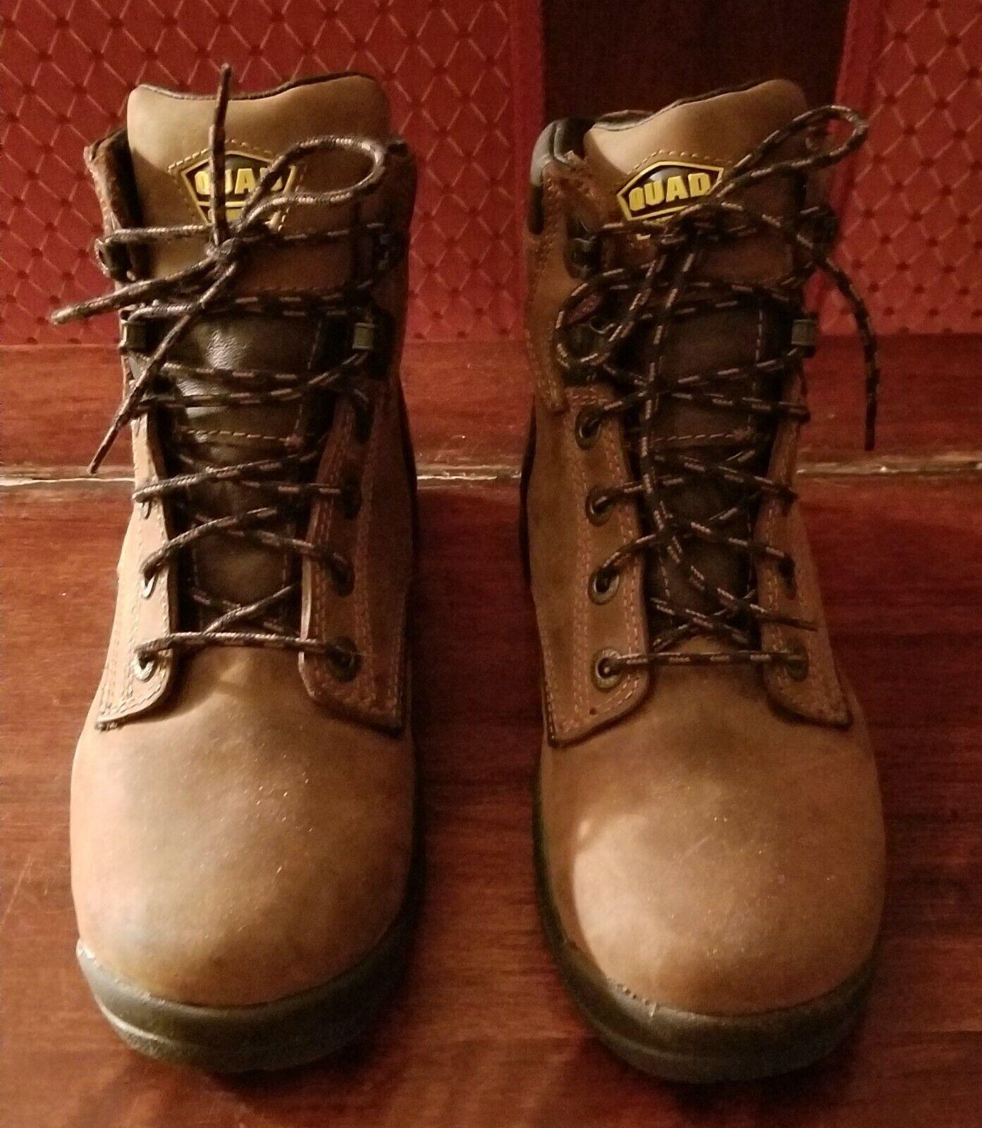 Lacrosse Impermeable Marrón Cuero botas De Trabajo-Para Mujer o para hombres 5.5 de ancho
