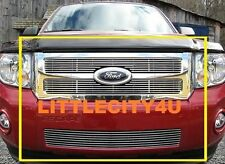 FOR 08 09 10 11 12 Ford Escape  Billet Grille Grill Combo inserts