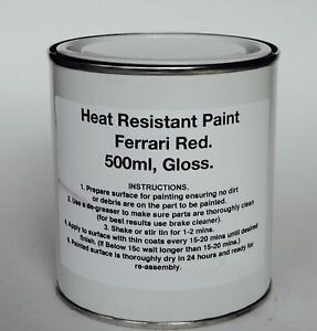 Brush Gloss Heat Resistant Paint