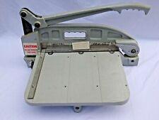Industrial Metal Amp Plastic Guillotine Cutter With2 Blades Trophyawardsengraving
