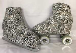 Training Skirt Boot Covers and Scrunchie Set B Roller and Ice Skating size 6