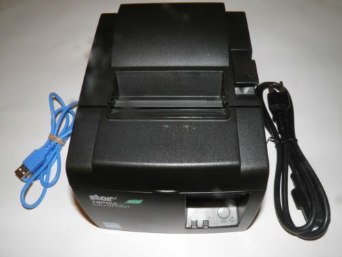 Star TSP100 ECO 143IIU Thermal POS receipt Printer with USB and Power Cable