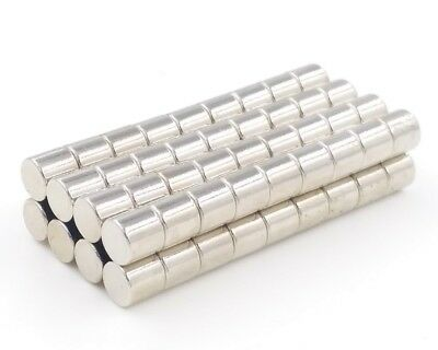 50x Neodym Scheiben Magnete Ø5 x 3 mm N45 700g Haftkraft NdFeB D5x3 mm rund