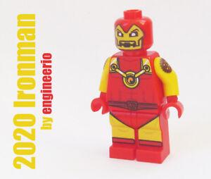 lego custom LEGO Minifigures Lego Iron Man Red Super Heroes minifigure ironman
