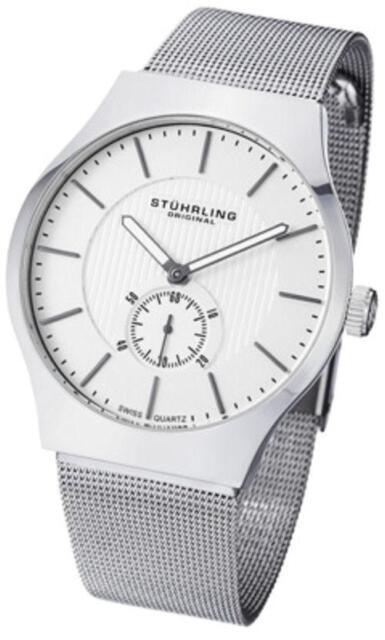 Stuhrling 125G 33112 Classic Ascot Albion Ultra Slim Swiss Mens Watch